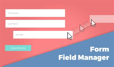 Field Manager by Form Field Manager Givewp