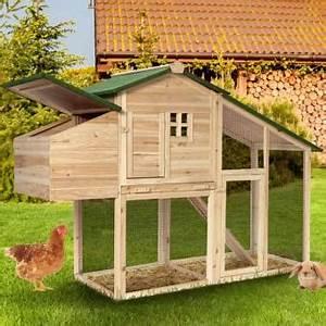 Cabane Pour Poule : 53 sur poulailler avec pondoir clapier en bois achat ~ Premium-room.com Idées de Décoration