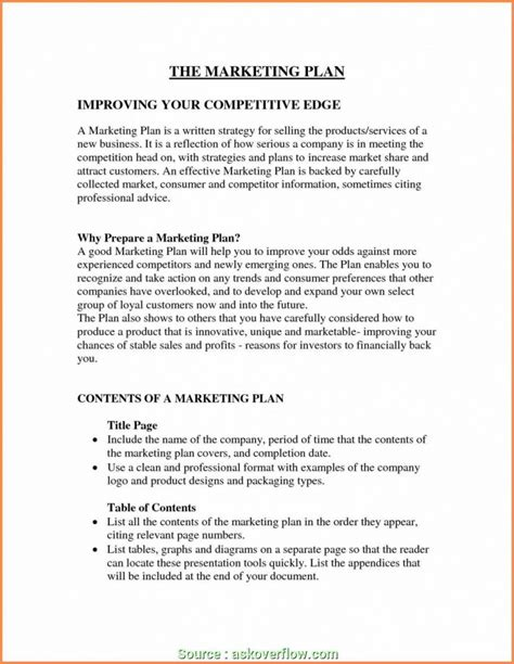 research paper executive summary   marketing plan templates  premium