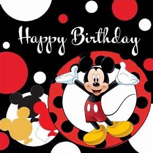 Happy Birthday Mickey Mouse : 17 best images about happy birthday kids on pinterest toy story party simple craft ideas and ~ A.2002-acura-tl-radio.info Haus und Dekorationen