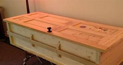 Coffin Diy Pine Coffins Funeral Exemplar Mark