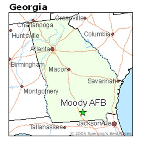 Best Places to Live in Moody AFB, Georgia