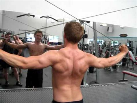 Pec Deck Flyes Alternative by Shoulder Numb Fingers Crossfit Dtsa Rear Delt Raise