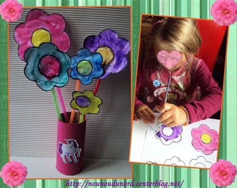 activité manuelle 6 ans bouquet de fleurs d axelle 6 ans printemps fleurs