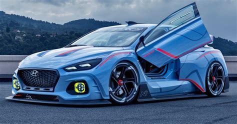 hyundai supercar concept hyundai i30 n won 39 t target the nurburgring fwd record