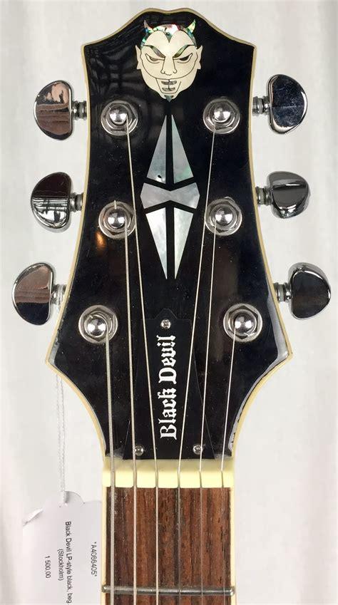 Vintage Guitars, SWEDEN - Black Devil LP-style.