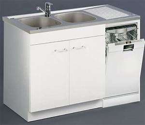Meuble Sous Evier 120 : meuble de cuisine sous vier lave vaisselle aquarine pro ~ Nature-et-papiers.com Idées de Décoration