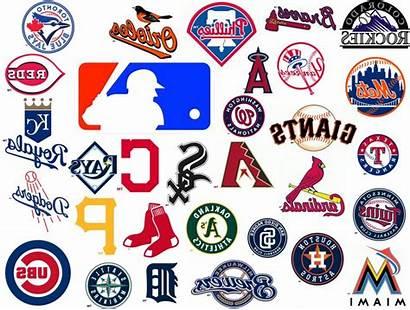 League Baseball National Vector Logos Team Teams