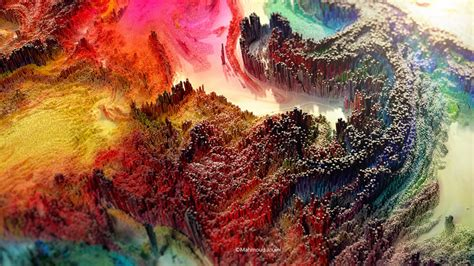 Amazing Abstract 3d Paintings By Mahmoud Jouini Sneakhype
