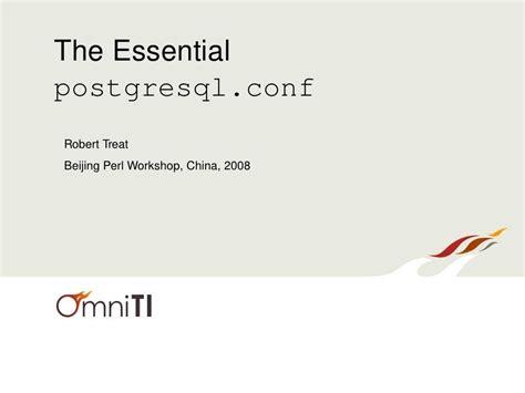 postgresql web programming essentials  essential