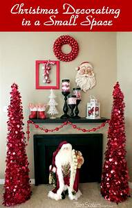 Christmas Decorating in a Small Space - Two Sisters