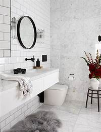 marble bathroom tile Bathroom profile: Marble & subway tiles