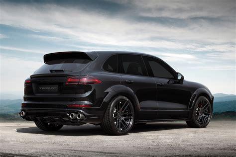Porsche Cayenne GT 2015. Black on Black / TopCar