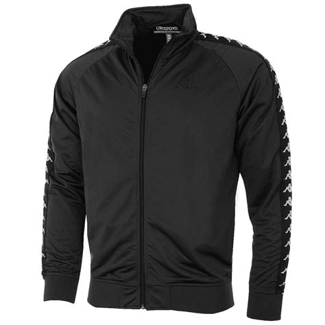 Track Jacket kappa 2016 mens top anniston zip sport banda track