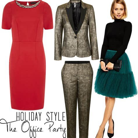 for work - How To Dress For A Company Christmas Party