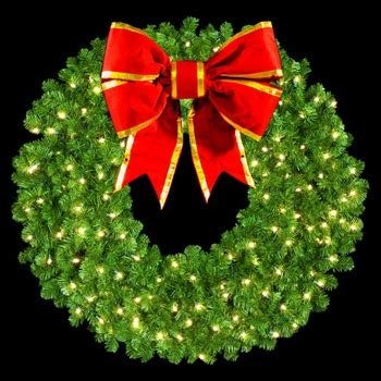 artificial christmas wreaths  single faced wreath