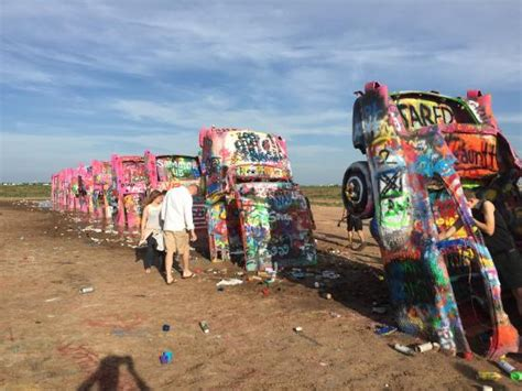 Picture Of Cadillac Ranch, Amarillo