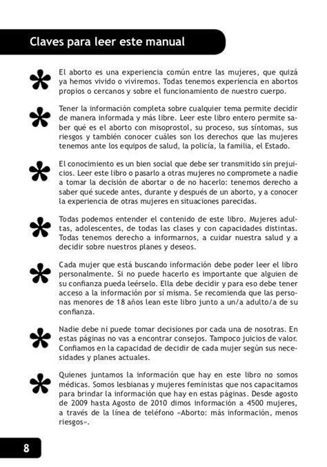 Cytotec O Oxaprost Manual Aborto Con Pastillas Argentina