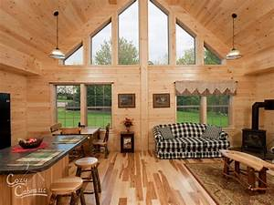 Log cabin interior ideas home floor plans designed in pa for Log homes interior designs 2
