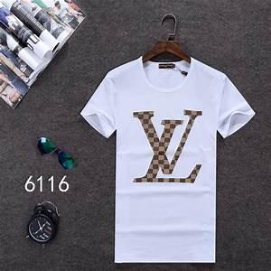 Louis Vuitton Men Shirts Kamos T Shirt
