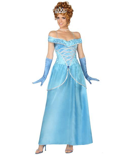 damen kostüm prinzessin blaues prinzessin kost 252 m f 252 r damen