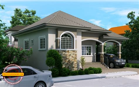 » Phd-2015022, Elevated One Storey House Designpinoy House