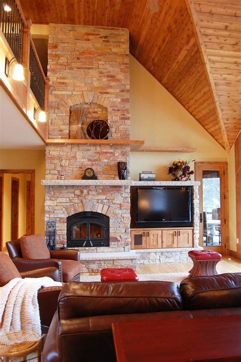 living spaces traci rauner design rustic floating