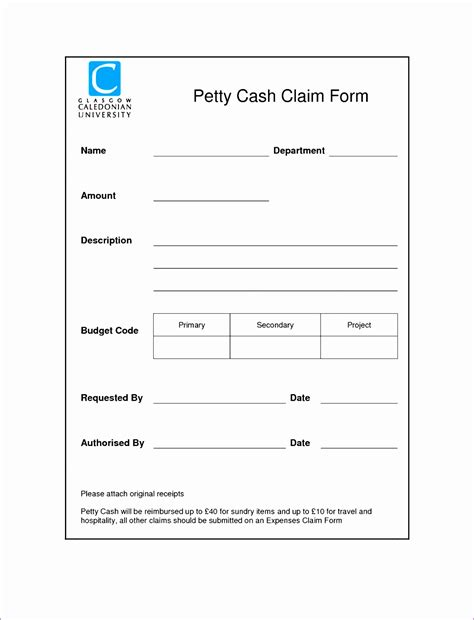 Petty Policy Template by 7 Excel Petty Template Exceltemplates Exceltemplates