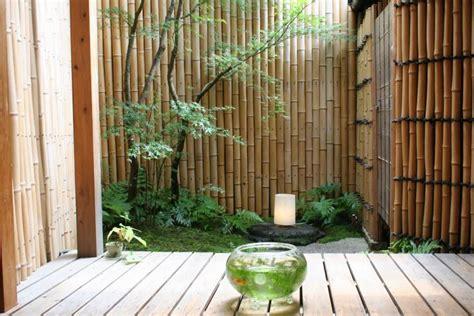 inspirasi desain pagar bambu tidak kalah  pagar