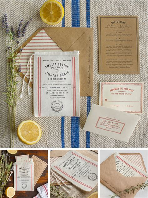 10 Unique & Creative Wedding Invitation Packages