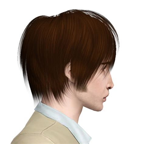 hair styles with fringe casual hairstyle raonjena 01 retextured by sjoko sims 3 6111