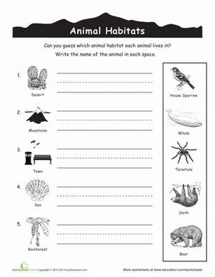 animal habitats for parks activities and