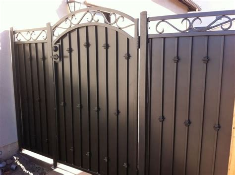 wrought iron and wood fence pinterest the world s catalog of ideas