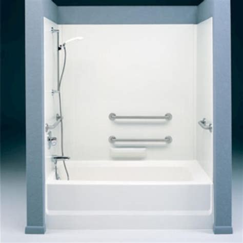 swan high gloss tub wall kit  menards bathroom remodel