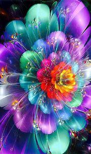 Neon Flowers Diamond Painting Kit at DiamondPaintingKits ...