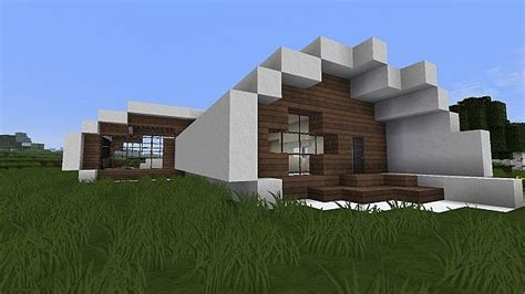 Vuxito  Medium Modern Oval House Minecraft Project