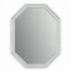 octagon vanity mirrors bathroom mirrors the home depot With octagon bathroom mirror