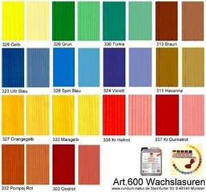 Holzlasur Farben Innen : wachslasur l semittelfreie farbige lasur leinos 600 ~ Markanthonyermac.com Haus und Dekorationen