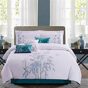 Panama jackr bamboo 7 piece reversible comforter set in for Bamboo pillow bed bath and beyond