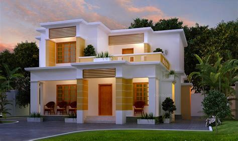 Warm House Design Indian Style Plan And Elevation  House