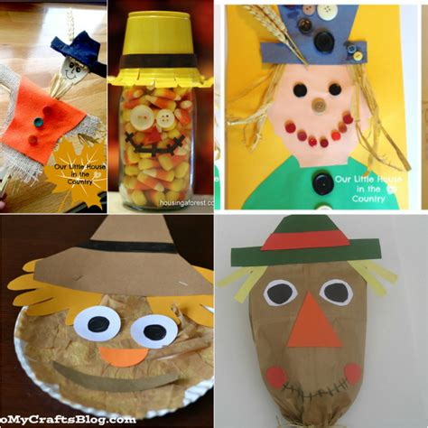 scarecrow crafts for 373 | Scarecrow2