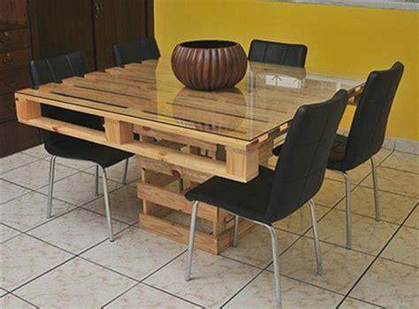tableau cuisine design table en palette 44 idées à découvrir photos