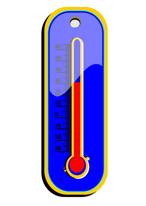 Thermometer Clip And Cold Thermometer Clip Clipart Panda Free