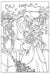 HD wallpapers beauty and the beast the enchanted christmas coloring pages