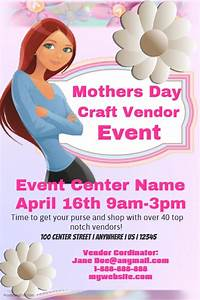 Mothers Day Craft Vendor Event Template | PosterMyWall