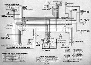 Wiring Diagram Book Honda C70