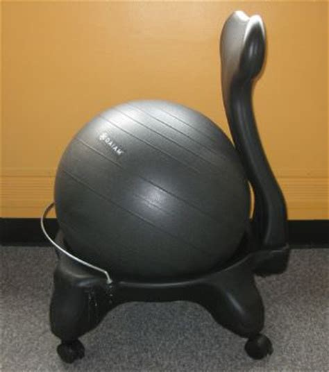 size stability ball desk chair