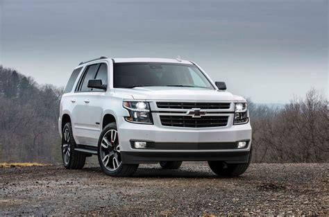 first chevy 2018 chevrolet tahoe and suburban rst first look motor trend