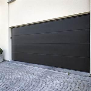 prix porte de garage sectionnelle portail coulissant 2m50 With prix d une porte de garage sectionnelle