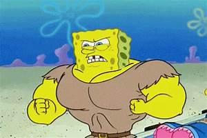 Buff GIF - spongebob squarepants chest GIFs | Say more ...